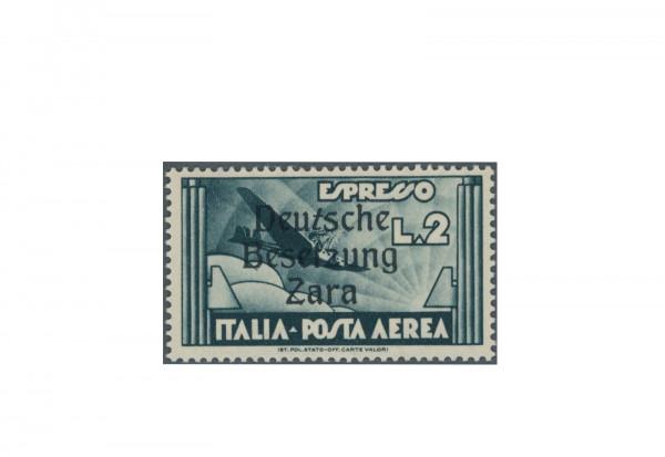 Briefmarke Deutsches Reich Zara Flugpost-Eilmarke 1943 Michel-Nr. 31 PF XV postfrisch Fotobefund