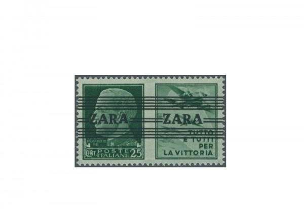 Briefmarke Deutsches Reich Zara 1943 Michel-Nr. 35.1 V + IV postfrisch Fotobefund