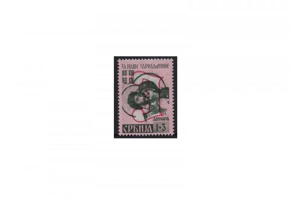 Deutsche Besetzung: Serbien Mi.Nr. 55 A III postfrisch