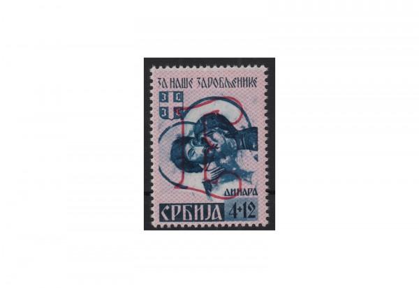 Deutsche Besetzung: Serbien Mi.Nr. 57 A IV postfrisch