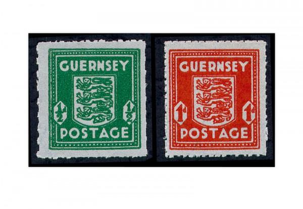 Guernsey Mi.Nr. 4/5 gest.