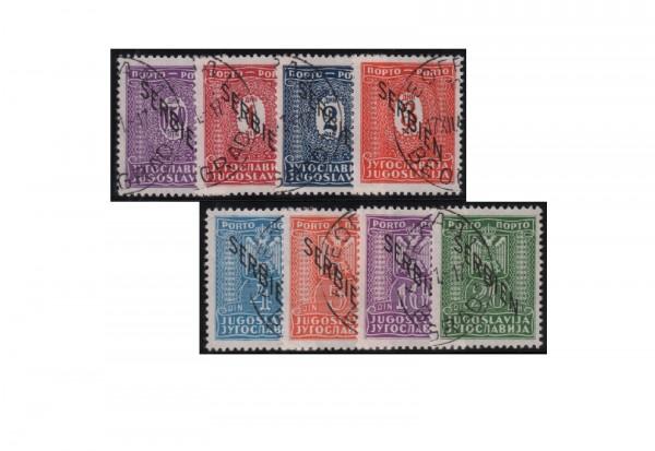 Serbien Portomarken Mi.Nr. P1/8 gestempelt