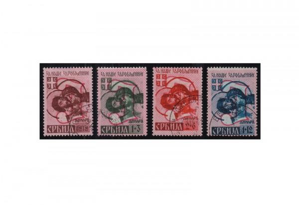Deutsche Besetzung: Serbien Mi.Nr. 54/57 III gestempelt