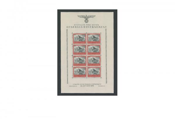 Briefmarken Deutsche Besetzung 2. Weltkrieg Generalgouvernement 1939-1944 Michel-Nr. 125 postfrisch