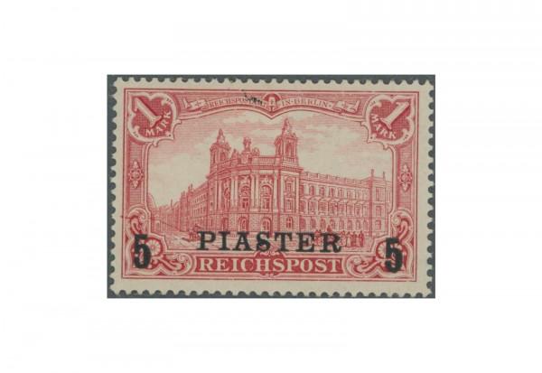 Briefmarke DAP/Türkei Dt. Auslandspostämter 1903 Michel-Nr.20 II PF I Falz