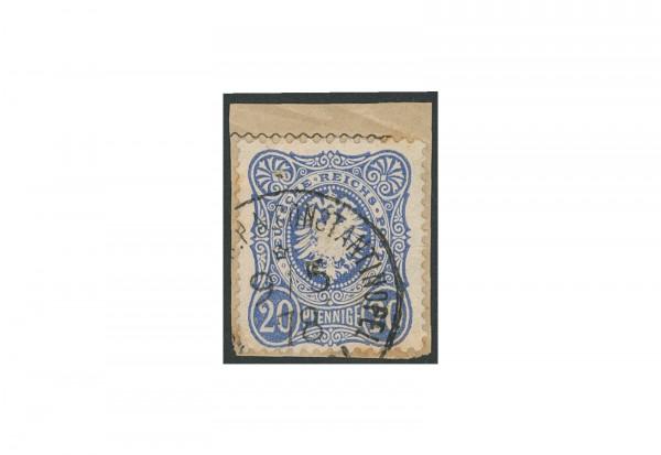 Briefmarke Deutsches Reich Auslandspostamt 1875/1880 Michel-Nr. V 34 b gestempelt geprüft