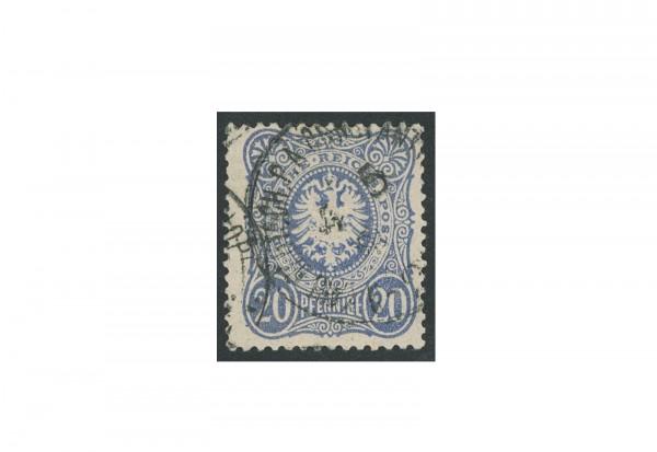 Briefmarke Deutsches Reich Auslandspostamt 1875/1880 Michel-Nr. V 34 a gestempelt geprüft