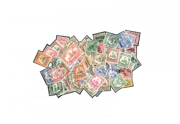 Briefmarken Sammlung Deutsche Kolonien und Auslandspostämter