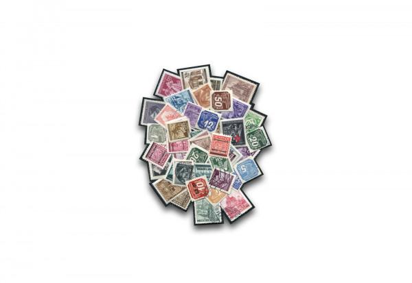 Briefmarken Deutsches Reich Böhmen und Mähren 100 verschiedene Marken
