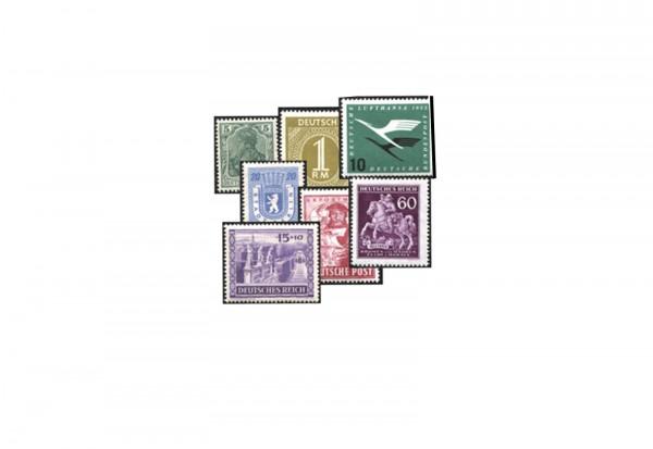 Marienwerder 1920 postfrisch und gestempelt 10 Marken
