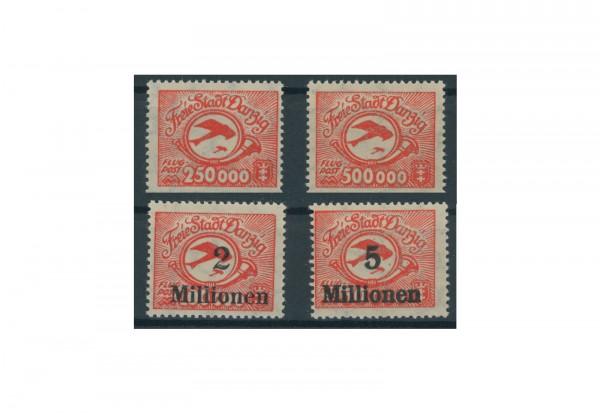 Briefmarken Deutsches Reich Einzelausgaben Danzig 1920-1939 Michel-Nr. 177-180 postfrisch