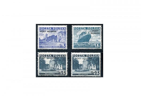 Briefmarke Deutsches Reich Freie Stadt Danzig 1936/1937 Michel-Nr. 29/31 I+II postfrisch
