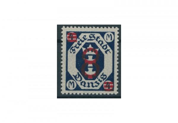 Briefmarke Deutsches Reich Danzig 1922 Michel-Nr. 102 mit Falz