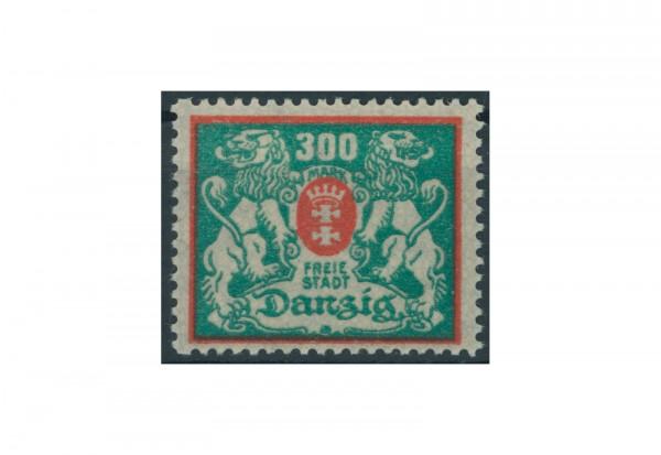 Briefmarke Deutsches Reich Freie Stadt Danzig 1920-1939 Michel-Nr. 130 Falz