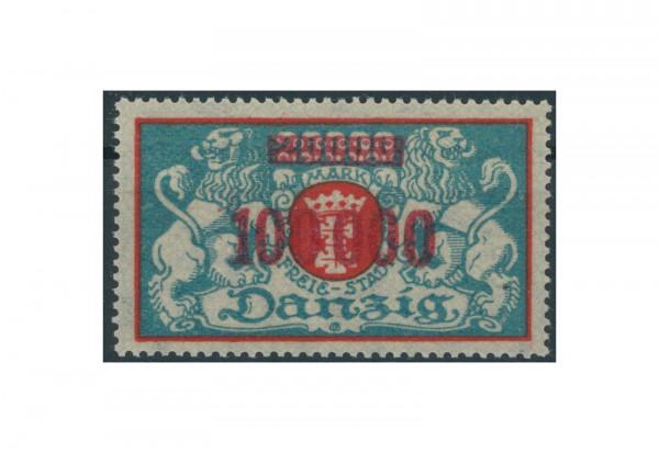 Briefmarke Deutsches Reich Freie Stadt Danzig 1920-1939 Michel-Nr. 150 Falz