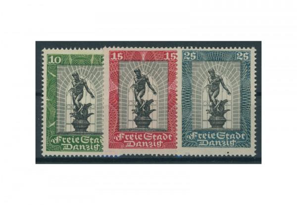 Briefmarken Deutsches Reich Freie Stadt Danzig 1920-1939 Michel-Nr. 217-219 Falz