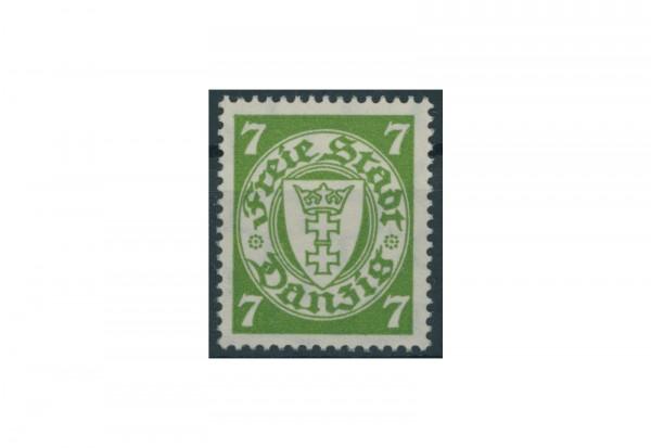 Briefmarke Deutsches Reich Freimarke Danzig 1933 Michel Nr. 236 Falz