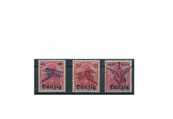 Briefmarken Deutsches Reich Einzelausgaben Danzig 1920-1939 Michel-Nr. 52-52 gestempelt