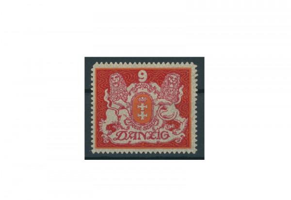 Briefmarke Deutsches Reich Einzelausgabe Danzig 1920-1939 Michel-Nr. 99 gestempelt
