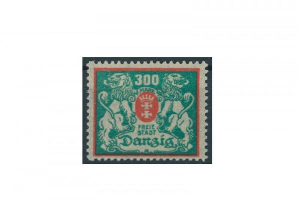 Briefmarke Deutsches Reich Einzelausgabe Danzig 1920-1939 Michel-Nr. 130 gestempelt