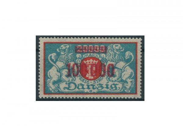 Briefmarke Deutsches Reich Einzelausgabe Danzig 1920-1939 Michel-Nr. 150 gestempelt