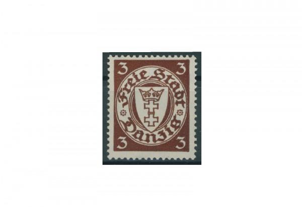 Briefmarke Deutsches Reich Einzelausgabe Danzig 1920-1939 Michel-Nr. 216 gestempelt