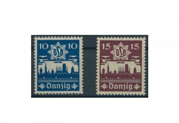 Briefmarken Deutsches Reich Einzelausgaben Danzig 1920-1939 Michel-Nr. 267-268 gestempelt