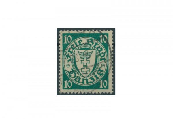 Briefmarke Deutsches Reich Einzelausgabe Danzig 1920-1936 Michel-Nr. 272a gestempelt