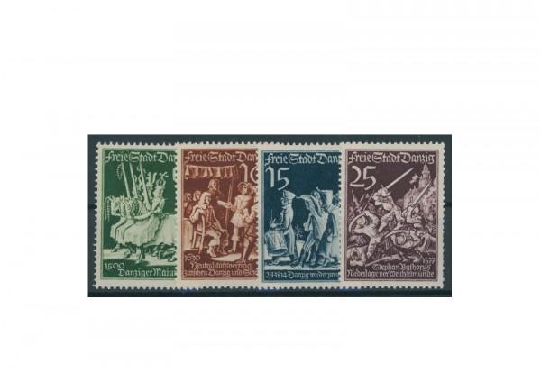 Briefmarken Deutsches Reich Einzelausgaben Danzig 1920-1939 Michel-Nr. 302-305 gestempelt