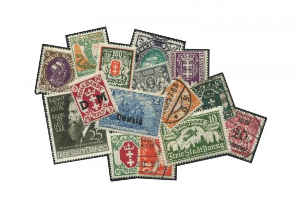 Deutsches Reich: Danzig Briefmarkenausgaben 1920-1939 postfrisch und gestempelt
