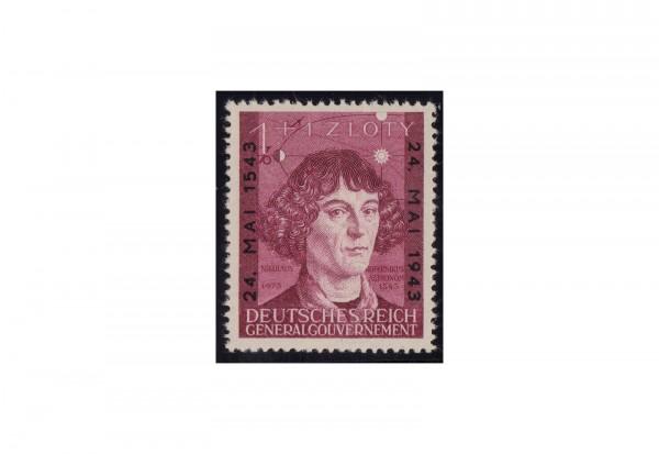 Generalgouvernement 1943: 400. Todestag von Nikolaus Korpenikus Michel Nr. 104 postfrisch