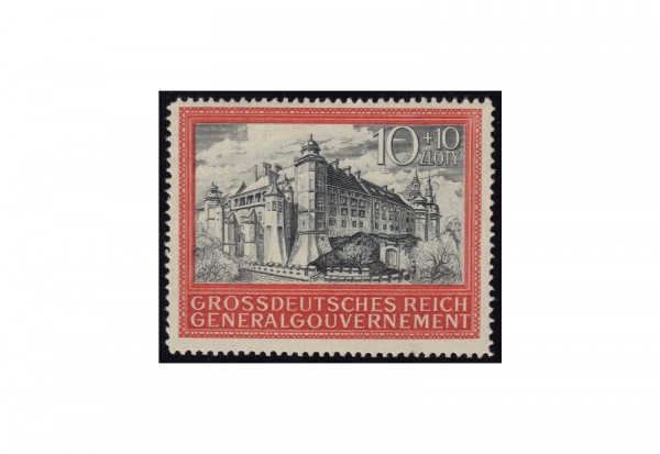 Generalgouvernement 1944: 5 Jahre Generalgouvernement Michel Nr. 125 postfrisch