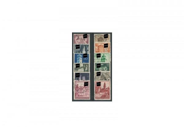 Generalgouvernement Freimarken 1940 Michel Nr. 40/51 gestempelt