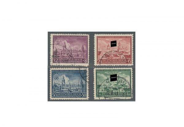 Generalgouvernement 1942: 600 Jahre Stadt Lublin Michel Nr. 92/95 gestempelt