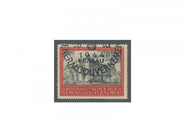 Generalgouvernement 1944: 5 Jahre Generalgouvernement Michel Nr. 125 gestempelt
