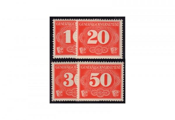Generalgouvernement Zustellungsmarken 1940 Michel Nr. Z 1/4 gestempelt
