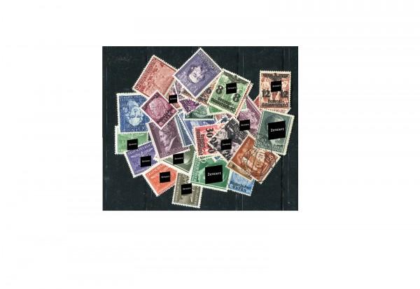 100 verschiedene Briefmarken aus dem Generalgouvernement postfrisch und gestempelt