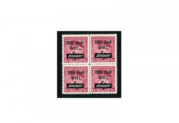 Briefmarken Deutsches Reich Sudetenland Rumburg 1938 Michel-Nr. 9 postfrisch