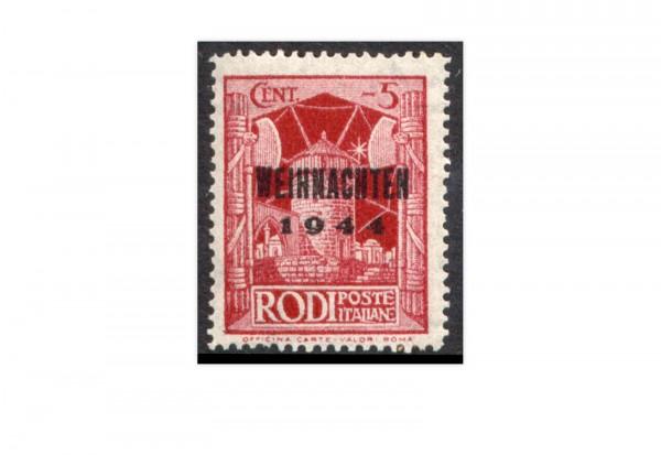 Deutsches Reich Feldpost Mi.Nr. 12 postfrisch Insel Rhodos