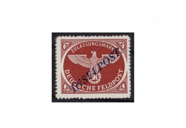 Deutsches Reich Michel-Nr. 10 Bb I Feldpost Inselpost postfrisch und geprüft