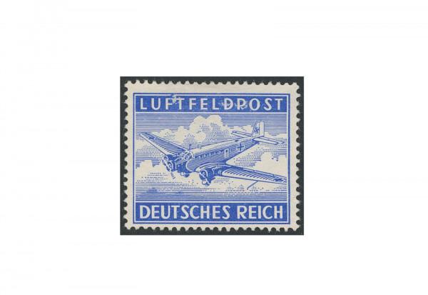 Briefmarke Deutsches Reich Luftfeldpost 1942 Michel-Nr. 1 A postfrisch