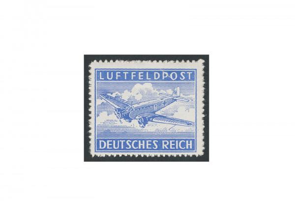 Briefmarke Deutsches Reich Luftfeldpost 1942 Michel-Nr. 1 B postfrisch
