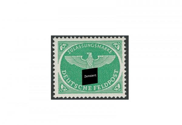 Briefmarke Deutsches Reich Feldpost Weihnachtspäckchen 1944 Michel-Nr. 4 postfrisch