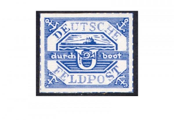 Briefmarke Deutsches Reich Feldpost Hela Michel-Nr. 13 ungebraucht ohne Gummierung