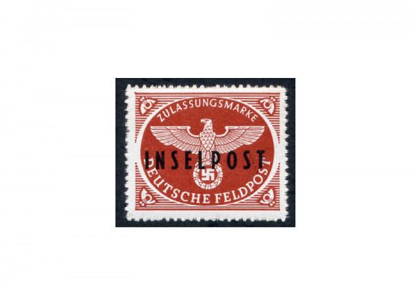Briefmarken Deutsches Reich Feldpost Rhodos 1944 Michel-Nr. 9 postfrisch geprüft