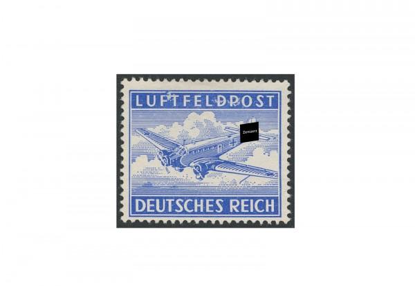 Briefmarke Deutsches Reich Luftfeldpost 1942 Michel-Nr. 1 A gestempelt
