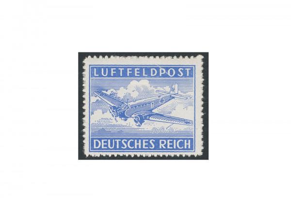 Briefmarke Deutsches Reich Luftfeldpost 1942 Michel-Nr. 1 B gestempelt