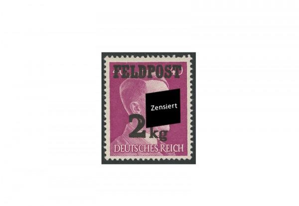 Briefmarke Deutsches Reich Feldpost Freimarke mit Aufdruck 1944 Michel-Nr. 3 gestempelt