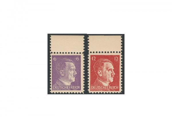 Briefmarken Deutsches Reich 1944 Michel-Nr. 15-16 OR postfrisch geprüft