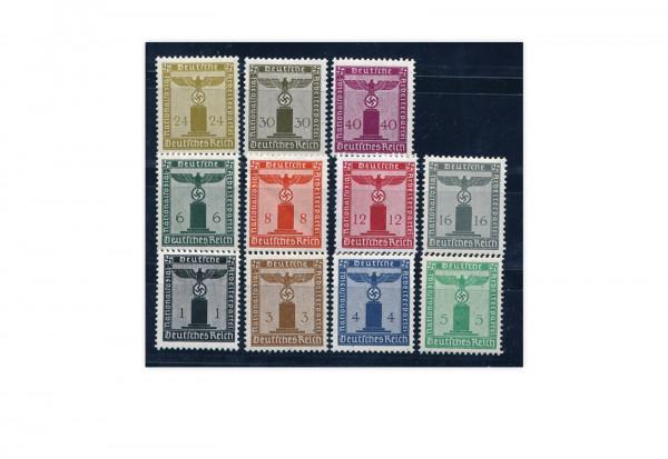Deutsches Reich Mi. Nr. D 144/154 postfrisch